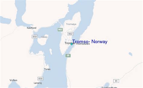 Tromso, Norway Tide Station Location Guide