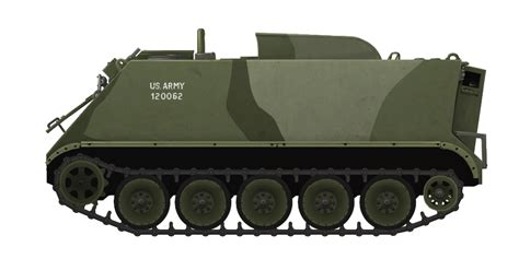 Armored Personnel Carrier M113A1/2E 'HOTROD' - Tank