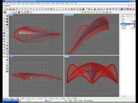Parametric Architecture with grasshopper - YouTube