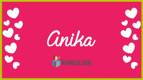 Anika Meaning, Pronunciation, Origin and Numerology