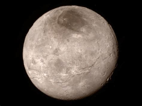 Pluto's Portrait From New Horizons: Ice Mountains and No