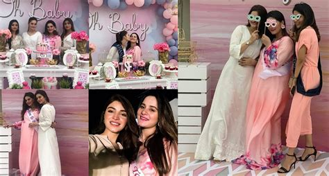 Aiman Khan's Baby Shower Happening Right Now   Pakistani