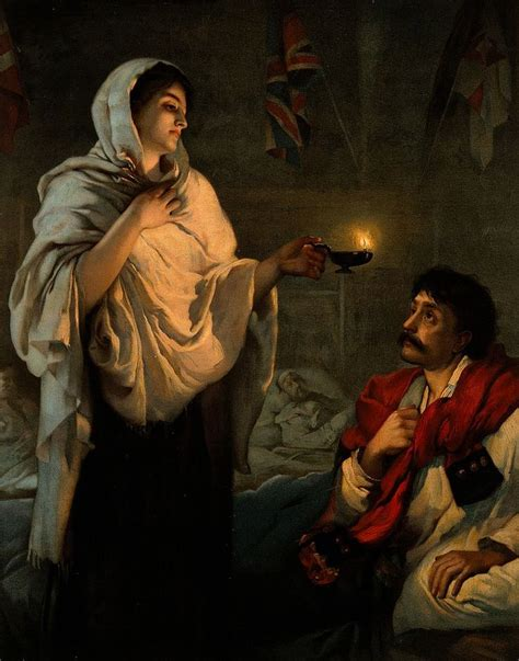 """Florence Nightingale: """"The Lady with the Lamp"""""""