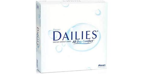 Alcon Focus DAILIES All Day Comfort 90-pack • Se priser