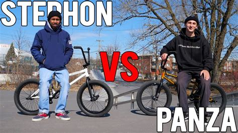 ANTHONY PANZA VS STEPHON FUNG GAME OF BIKE (2019) - YouTube