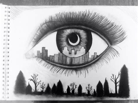 My attempt at this eye drawing i saw