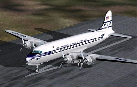Douglas DC-4 And C-54 for FS2004