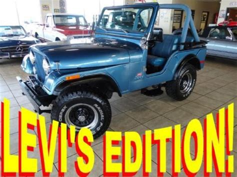 Buy used 1980 Jeep CJ7 4 cylinder Manual Transmission in