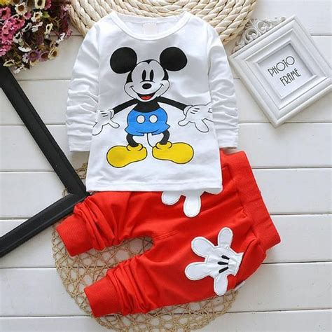 HOT SELLER! Baby and Toddler Mickey Mouse Unisex 2 Piece