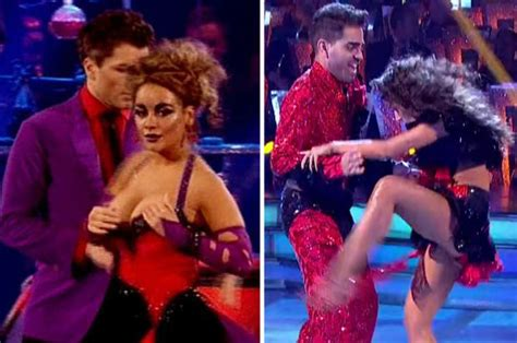 BBC Strictly voting and results upstaged by ultra-sexy