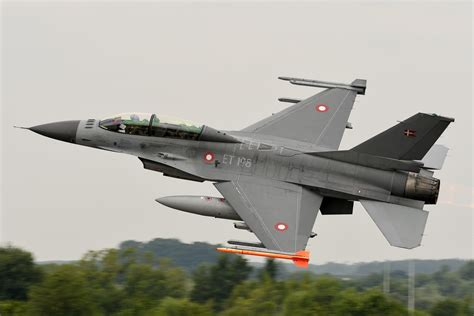Royal Danish Air Force F-16 Display Interview by UK