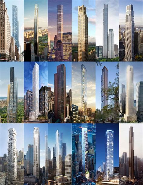 How NYC's Super Skinny Skyscrapers Stack Up Next to the