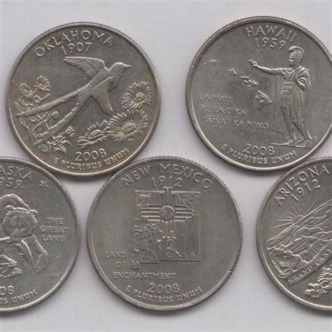 2008 State Quarters of United States of America - www