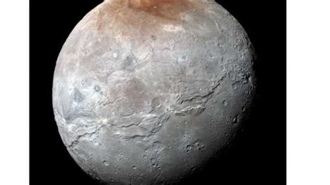 Spectacular New Images Of Pluto's Moon Charon   IFLScience
