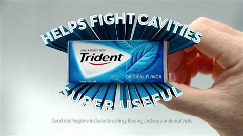 Trident Gum Helps Fight Cavities - Super Useful - YouTube