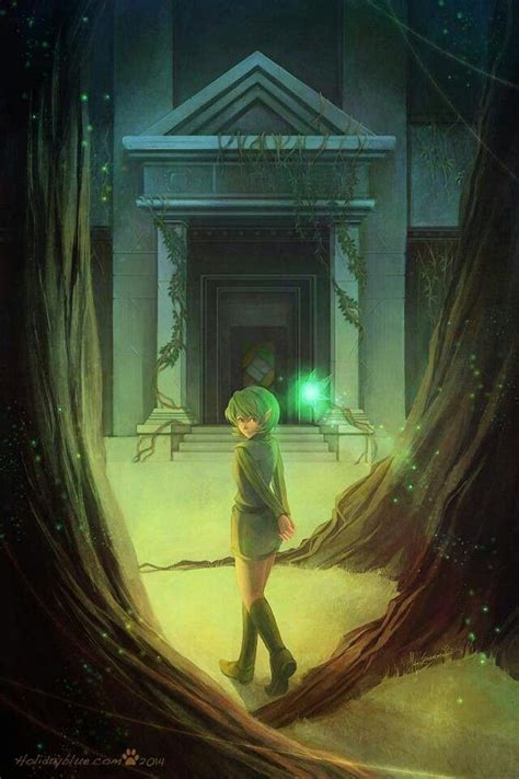 Saria in the forest temple | Tempel, Wind waker, The