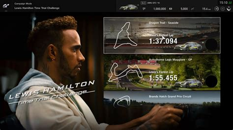 Lewis Hamilton Time Trial Challenge coming to GT Sport on
