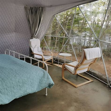 Tent Factory White Pvc Outdoor Yurt Glamping Luxury Tent