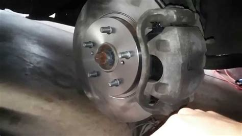 2008 Toyota Sienna Front Disc Brake Replacement - YouTube