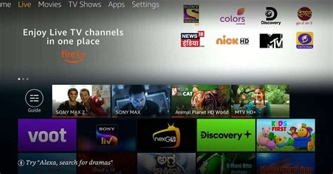How to watch Live TV on Amazon Fire TV Stick
