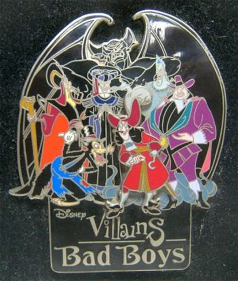 Bad Boys Disney Villains pin from our Pins collection