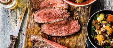 Picanha Meat Recipe with Bean Salad - olivemagazine