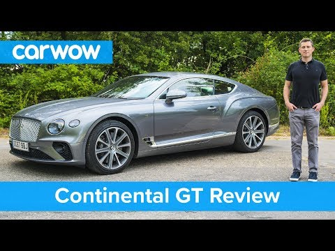 2018 Bentley Continental GT Spied Testing With The Old W12