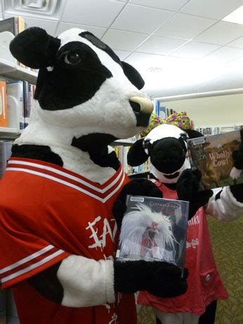 Read with the Chick-fil-A Cow @ Grottoes Branch Library