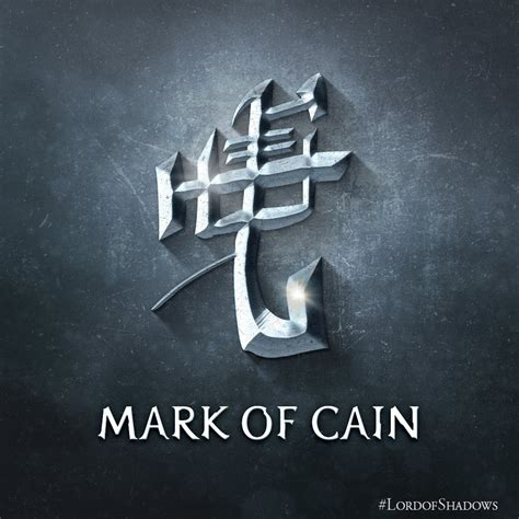 Mark of Cain | The Shadowhunters' Wiki | FANDOM powered by